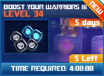 M wave2 lev34 boost your warriors iii