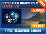 M wave5 lev72 boost your warriors v