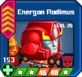 A E Sup - Energon Rodimus box 26