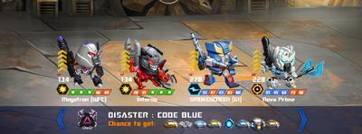 T disaster code blue xx smokescreeng1 x