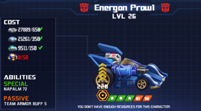 Error - Energon Prowl