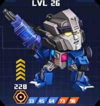 A E Hun - Energon Prowl pose