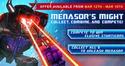 Event Menasor's Might