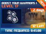 M wave6 lev17 boost your warriors i