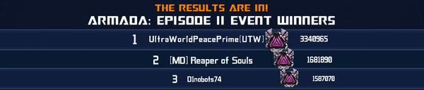 Event Armada Episode 2 - Solo Winner phase 1