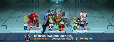 T optimus maximus awake cw optimus maximus cw