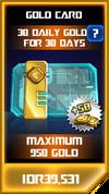 P gold card computrons challenge
