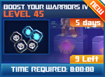 M wave5 lev45 boost your warriors iv