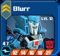A U Sco - Blurr box 12