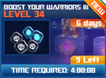 M wave3 lev34 boost your warrior iii