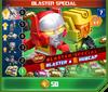 P blaster special sonic clash