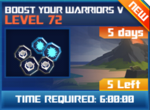 M wave2 lev72 boost your warriors v