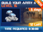 M wave7 lev16 build your army ii