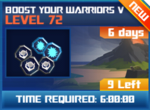 M wave7 lev72 boost your warriors v