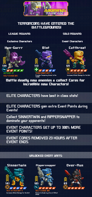 Event Abominus Rampage