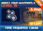 M wave3 lev19 boost your warrior ii