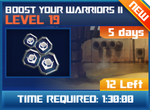 M wave5 lev19 boost your warriors ii