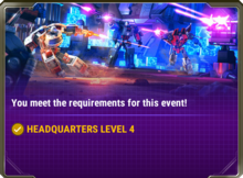 Ui event requirement d