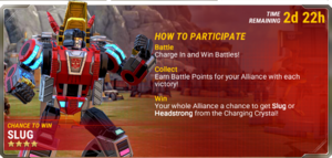 Ui event charging in info a