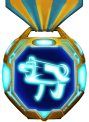 Gold Episode Weapon Medal