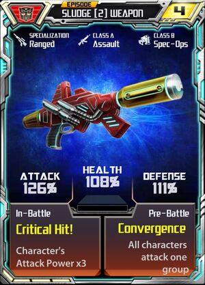 Sludge (2) Weapon