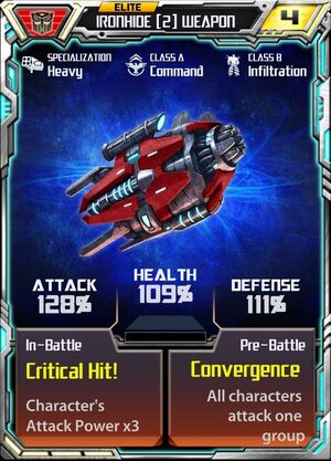 Ironhide (2) Weapon