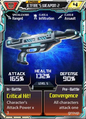Jetfire weapon