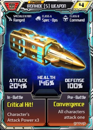 Ironhide (5) Weapon
