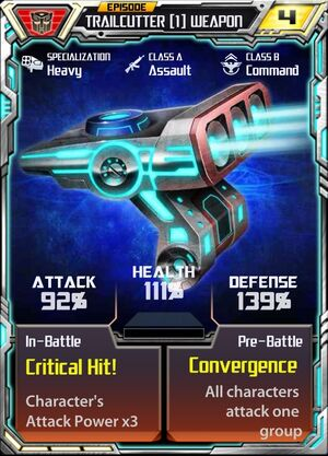 Trailcutter (1) Weapon