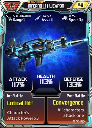 Inferno (1) Weapon