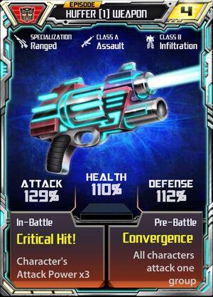 Huffer (1) Weapon