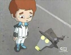 Daniel and robot