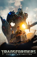 Transformers Age Of Extinction cover background