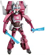 Animated Arcee Toy