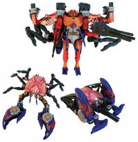 BW Rampage toy