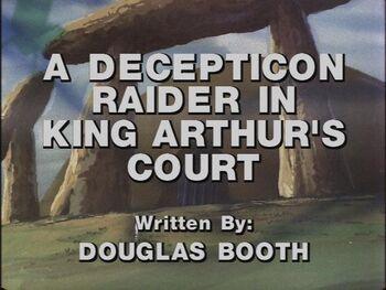 Decepticon Raider title shot