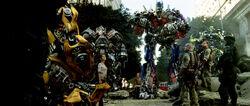 Movie Prime Jazz Ironhide Ratchet battleaftermath