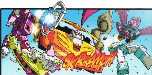 File:Madman comic HotRod runsover tapes.jpg