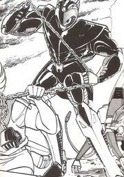 Solon in armor