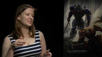 Jerrod Carmichael Interview Transformers The Last Knight