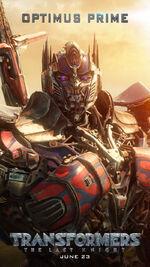 Transformers 5 Oprimus Prime Poster