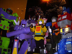 Transformers-cosplayers