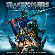 Transformers the last knight score cover 2