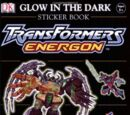 Transformers Energon Glow-in-the-Dark Sticker Book