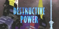 Destructive Power