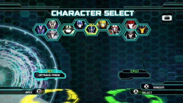 File:TFP Game Wii U Chara Select.jpg
