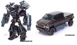 Movie Voyager Ironhide toy