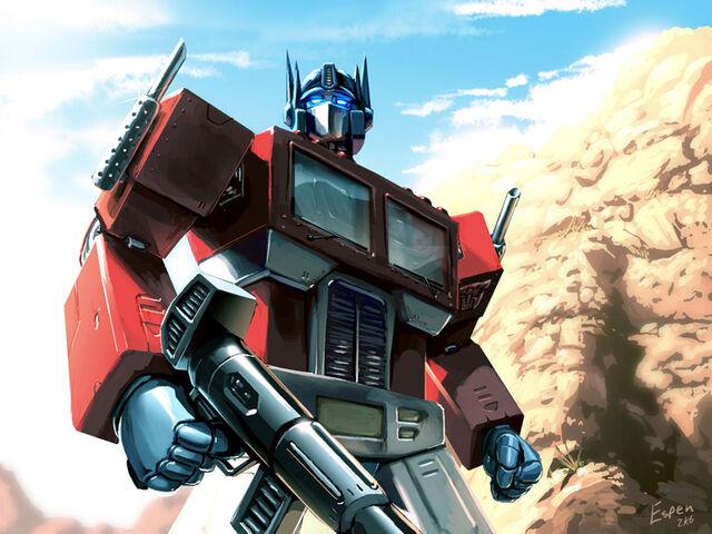 File:Optimus Prime by EspenG.jpg