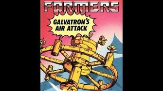 Galvatron's Air Attack by John Grant - 1986 Transformers Audiobook