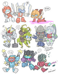 Transformers 2k5 sillies